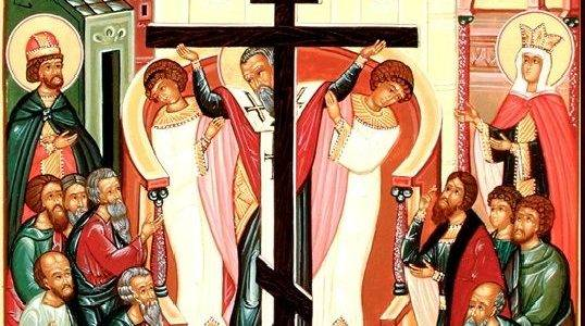 Праздник Воздвижение Креста Господня в храме-часовне Святого Богоявления