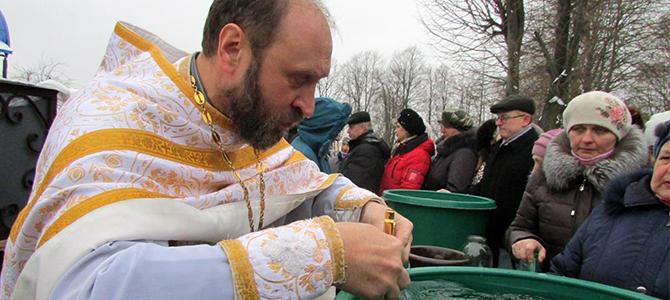 Престольный праздник Богоявленской часовни
